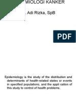 Epidemiologi kanker