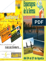 Programa Fiestas San Bartolomé 1998