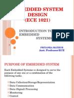 Embedded Sysytems
