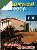 Programa Fiestas San Bartolomé 2006