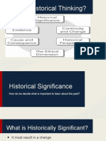 historical thinking concepts without work