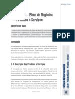 AlunoAula Nº 6 – Plano de Negócios – Produtos e Serviços