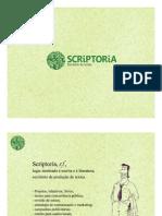 Apresentação SCRIPTORIA_4 Anos_2015