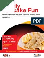 Pancake Poster Eccleston