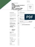 Application Form Academic 101214