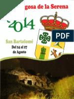 Programa Fiestas San Bartolomé 2014