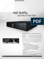SRD 1652D Specifications
