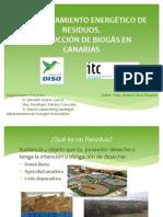 APROVECHAMIENTO ENERGÉTICO DE RESIDUOS. PRODUCCIÓN DE BIOGÁS EN CANARIAS