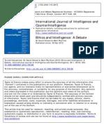 Ethics and Intelligence