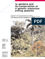 Home Gardens & in Situ Conservation of Plant Genetic Resources in Farming Systems; Gardening Guidebook