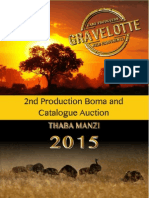 Gravelotte Game Producers Catalogue 2015