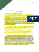 Athrun's Policy Statement