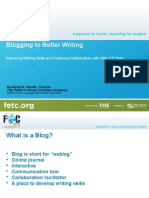 blogging to better writing