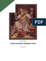Petar Požar - Tajna Povijest Rimskih Papa