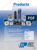 AMP Servo Products Brochure
