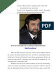 Gavrov Sergey Professor Yuri Reznik in an Era of Cultural Thermidor