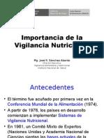 Importancia de La Vigilancia Nutricional