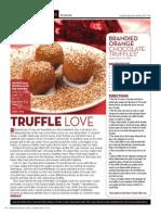 """Brandied Orange Chocolate Truffles"""