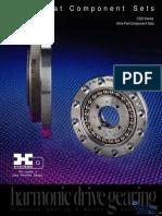 Harmonic Drive CSD Specsheet