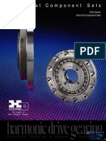 Harmonic Drive Ultra Flat Component Specsheet