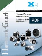 Harmonic Drive_ Gearhead _Catalog