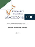 CASO DE CRISTO 7-14