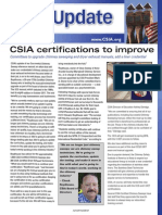 CSIA in NCSG's Sweeping magazine, February 2015