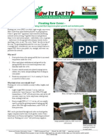 Floating Row Cover - An Organic Gardening Tool that Improves Plant Growth & Excludes Pests - Part 1; Gardening Guidebook for Howard County, Maryland
