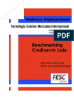 Aplicación de Modelo Benchmarking a La Cooperativa de Ahorro y Crédito Crediservir en La Ciudad de Ocaña