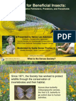 Farming for Beneficial Insects - Conservation on Native Pollinators, Predators & Parasitoids; Gardening Guidebook for South Carolina