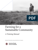 Farming for a Sustainable Community - Training Manual