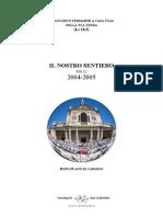 Cammino Formativo TEND 04-05