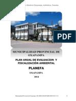 Plan_12163_plan Anual de Evaluacion y Fiscalizacion Ambiental_2014