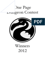 1PDC 2012 Winners