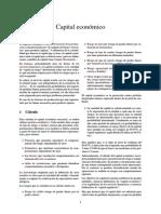 Capital Económico