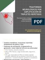 Fisiopatología de Tripletes Repetidos