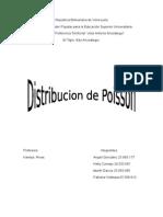 Distribucion de Poisson (1) Estadistica