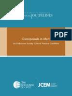 FINAL Osteoporosis in Men Guideline