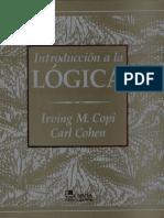 Cohen y Copi - Introduccion a LaLógica-1