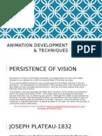 animation development & techniques powerpoint