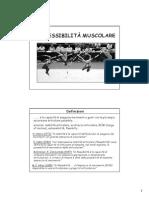 La Flessibilità Muscolare