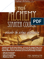 Zep Tepi Alchemy Course eBook