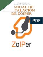 Manual de Instalacion de Zoiper