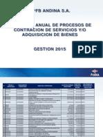 Pac Ypfb Andina Gestion 2015