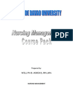 Nursing Management Course Pack