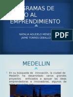 Apoyo al emprendimiento en Medellín
