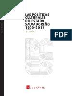 Las políticas culturales del estado salvadoreño