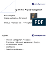Property Manager 11i
