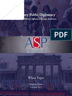 Military Public Diplomacy