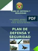 Plan de Defensa y Seguridad